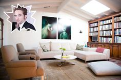 Robert Pattinson - The Coolest Celebrity Living Rooms - Photos