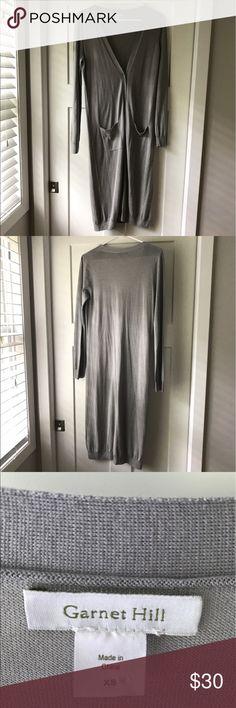 Garnet Hill long cardigan Garnet Hill, lightweight long cardigan. Perfect for cool summer nights! NWOT. Garnet Hill Sweaters Cardigans