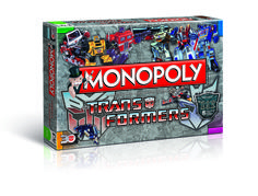 Monopoly Transformers -  Das weltweit beliebteste Brettspiel trifft auf das großartigste Spielzeug unserer Kindheit in dieser 30-Jahre-TRANSFORMERS MONOPOLY -Ausgabe. Bei Ihrer Reise rund um das Spielbrett mit den besten Autobot- und Decepticon-Figuren aus der Sammlung Ihrer Kindheit erleben Sie die Geschichten neu, die Sie schon auf dem Fußboden Ihres Kinderzimmers nachgespielt haben.