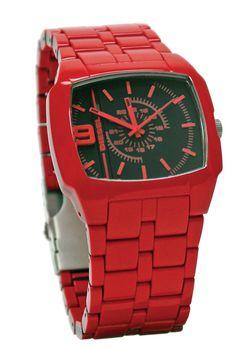 Diesel  Watch Red