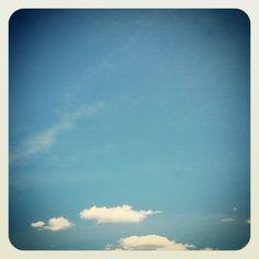 Blue day #sky #blue