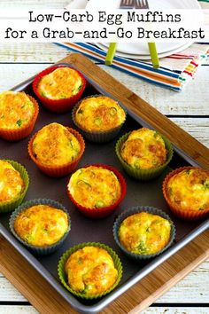 It's January and you need easy and tasty low-carb breakfasts, right? These low-carb egg muffins are perfect for a grab-and-go breakfast! And my popular egg muffins are low-carb, Keto, low-glycemic, gluten-free, and South Beach Diet friendly and can easily be Whole 30 or Paleo;use theDiet-Type Indexto find more recipes like this one. Click here to…