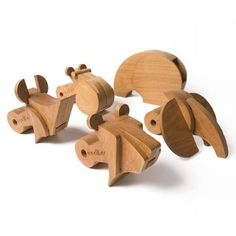 Mastodon Pack - Holzpuzzle - Holztier