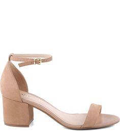 Sandália Pop Nobuck Nude-Rose | Arezzo Fancy Shoes, Pretty Shoes, Beautiful Shoes, Bride Shoes, Prom Shoes, Wedding Shoes, Diamond Shoes, Nude Bags, Cute Heels