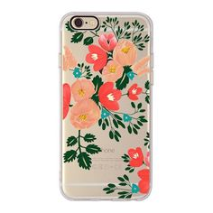 Cute Candy Color TPU Silicone Case for iPhone 6 6S Rose Peony Flower Leaf Pattern Phone Cover Case for iPhone 6S 4.7""