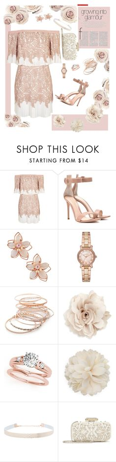 """Dreamy Dress- VIII"" by mary-kay-de-jesus ❤ liked on Polyvore featuring Topshop, Gianvito Rossi, NAKAMOL, Michael Kors, Red Camel, Cara, Gucci, Eloquii and Oscar de la Renta"