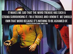 this makes me sad because i haven't watched star trek in so long :(