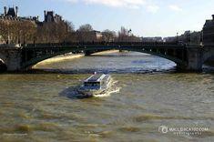 Notre Dame, Boat, France, Dinghy, Boating, Boats