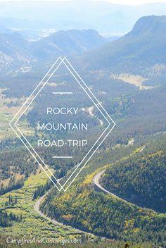 Road trip through Wyoming and Colorado USA