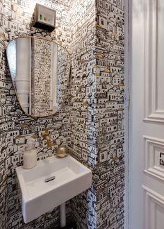 173 Meilleures Images Du Tableau Papier Peint Toilettes En 2018