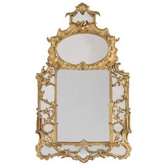 PROPERTY FROM THE WANAMAKER-DE HEEREN COLLECTION A George II giltwood pier mirror