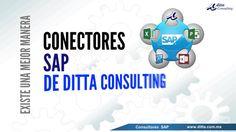 Conectores SAP Office de Ditta Consulting  SAP Consultores en México, SAP ERP, Conectores SAP  DITTA CONSULTING Calle Heliópolis No.217, Colonia Clavería C.P. 02080, México, D.F. 52(55) 5342-2159  http://www.ditta.com.mx/