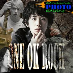 One Ok Rock Online Photo Editing, One Ok Rock, Movie Posters, Movies, Fictional Characters, 2016 Movies, Film Poster, Films, Popcorn Posters