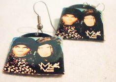 90s Vintage Milli Vanilli Record Earrings by trashybeasts on Etsy, $11.75