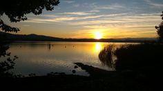Tramonto ottobre 2015 lago di Varese