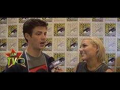 Comic Con 2014  Grant Gustin on Being The Flash - JAM TV