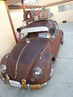Nice Patina VW Beetle