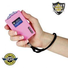 Rechargeable Pink Taser for Women - Streetwise Hottie 11,000,000 Volt Rechargeable Stun Gun
