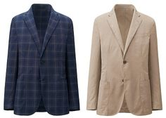 """UNIQLO """"Light Cotton"""" Jacket 