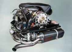 The Porsche Flat-Six Engine1975 911 turbo, 3.0 litre- engine