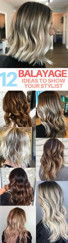 These balayage hair ideas are gorgeous! I already saved my favorites to bring to my next hair appointment to try and copy. Balayage is the new ombre hair!