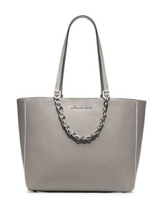 MICHAEL+Michael+Kors++Large+Harper+Tote...perfect for fall/winter...great neutral gray
