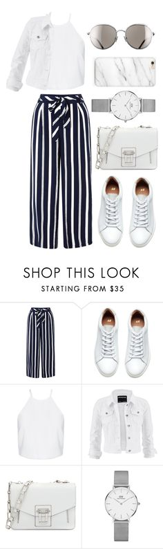 """""""• 33"""" by dianasf ❤ liked on Polyvore featuring Monsoon, maurices, Proenza Schouler, Daniel Wellington and Chanel"""