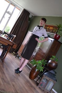"""Preview """"Finished: Gerties pencil skirt"""" ~ Sewing ♥ Vintage ♥ Knitting"""