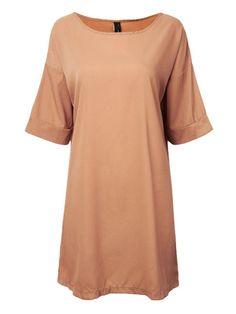 Casual Short Sleeve Loose A-line Party Mini Dress - Gchoic.com #Dresses #Women #Fashion #Latest
