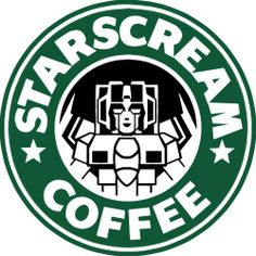 Starscream Coffee. #Transformers #Autobots #Decepticons