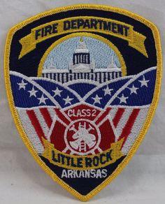 Little Rock Arkansas, Patches For Sale, Fire Department, Selling On Ebay, Porsche Logo, Logos, Fire Dept, Logo