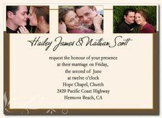 wedding invitations template Wedding Invitation Templates Free