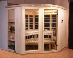 Combo infrared and steam sauna