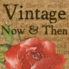 VintageNowAndThen - Looking for vintage items for you and your home? Well, youve come to the right place! #vestiesteam