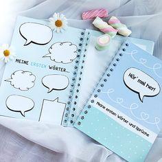 Erinnerungsbuch Meine ersten Wörter & Sprüche - Hier kannst du erste Wörter, Lieblingswörter und Sprüche notieren und eine zauberhafte Erinnerung schaffen.
