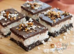 Healthy Desserts, Dessert Recipes, Healthy Recipes, Vegan Treats, Cake Cookies, Nutella, Good Food, Food And Drink, Low Carb