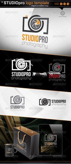 Studio pro - photography - Objects Logo Templates