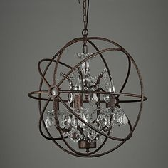Chandeliers Crystal Traditional/Classic Bedroom / Dining Room / Entry / Hallway Metal 2016 – $454.73