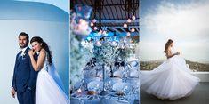 Με ένα εκπληκτικό custom made νυφικό από τη σχεδιάστρια Maria Konidi εντυπωσιάζει η γοητευτική νύφη από το γάμο στη Μύκονο που ομορφαίνει σήμερα το Love4We