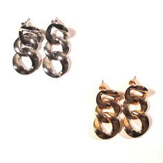 Chunky Chain Links Earrings