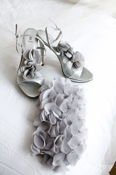 gray wedding shoes - not this style maybe. But the color?? Yes!