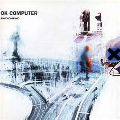 OK Computer is the third studio album by the English alternative rock band Radiohead, released in 1997 on Parlophone and Capitol Records. OK Computer was the first self-produced Radiohead album, with assistance from Nigel Godrich. Radiohead Albums, Music Albums, Music Books, Rock And Roll, Pop Rock, Music Covers, Cd Cover, Cover Art, Rock Music