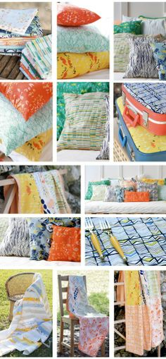 Leah Duncan's fantastic fabric collection 'Meadow'