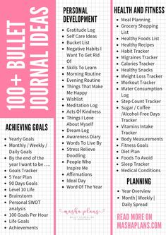 Bullet Journal can virtually help you with anything. Check out this list of Bullet Journal page ideas for you to get the maximum out of your planner!