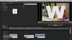Premiere Pro Cool Effect Tutorial #3: Multiple Videos Inside Text Effect, via YouTube.