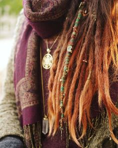adorned dreads ♥️