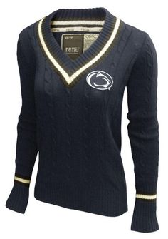 53c0d3451 Penn State Women's Varsity Vee Sweater Family Clothesline, State College,  Clothes Line, My