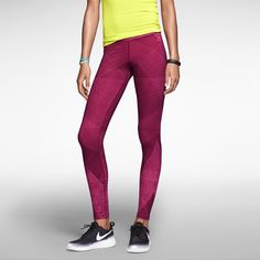 The Nike Fast Track Printed Women's Leggings.