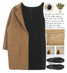 """""""do things your future self will thank you for."""" by alienbabs ❤ liked on Polyvore featuring Marie Turnor, Samsøe & Samsøe, John-Richard, clean, organized and shein"""
