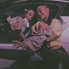 Dm for promos 💸 Estilo Gangster, Gangster Girl, Bff Goals, Best Friend Goals, Best Friends, Badass Aesthetic, Black Girl Aesthetic, Gangsters, Lila Baby